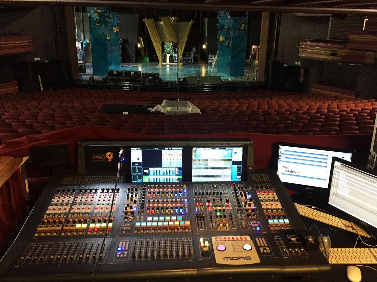 Prosound involved in top SA theatre