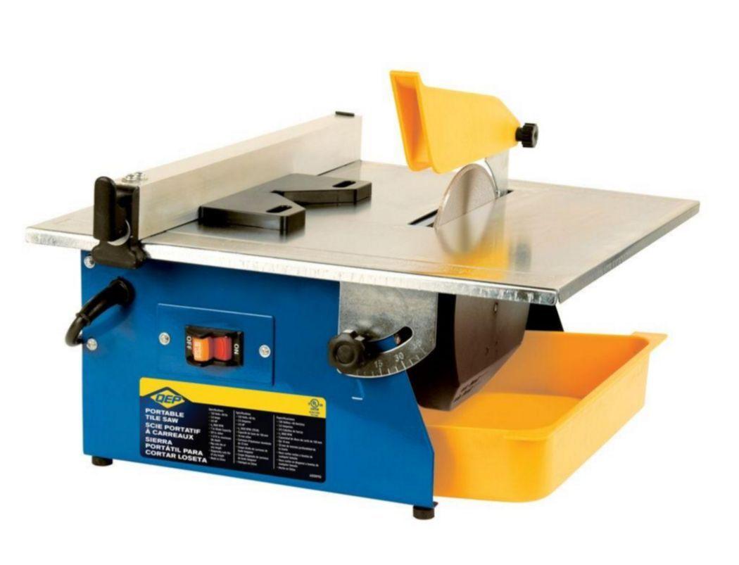 qep 60089 master cut portable tile saw 7 inch