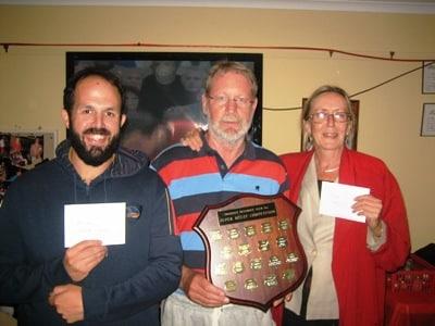 David Palmer and Tory McBride latest Super Melee winners _ December 2012