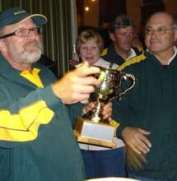 Trans Tasman 2007, Mike held the Over 60s Cup