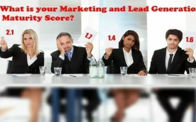 What is your Marketing and Lead Generation Maturity Score?