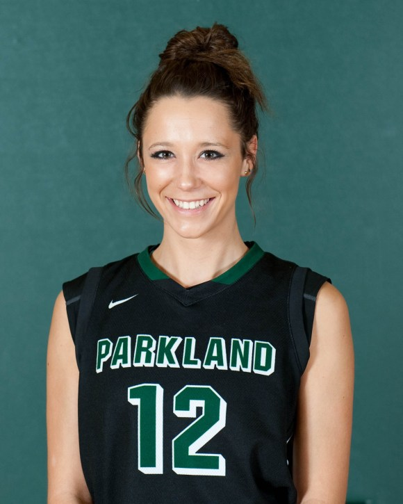 Photo courtesy of Marketing and Public Relations | Parkland College 12	Kennedy Hartman	5-7	SO	G	Unity HS/Sidney, IL