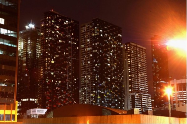 Night light: apartments being deliberately kept vacant don't add to the country's stock of available housing, Prosper Australia says. Robert Prezioso