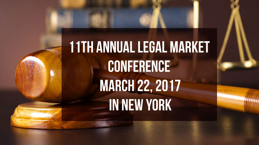 11th Annual Legal Market Conference on March 22, 2017 in New York