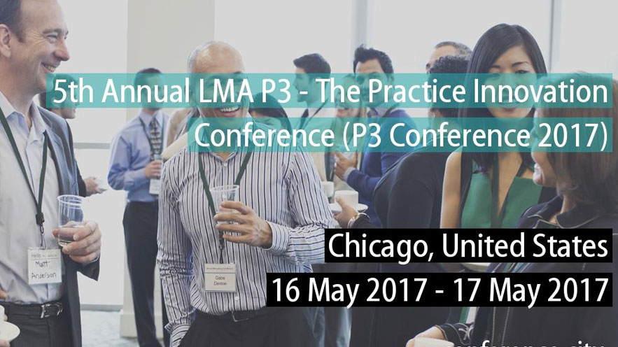 P3 - Practice Innovation on MAY 16, 2017 in Chicago