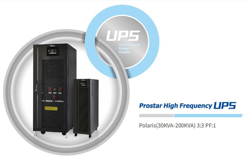 Prostar High Frequency 3P 3P Online UPS 30KVA 60KVA 100KVA 120KVA 180KVA 200KVA