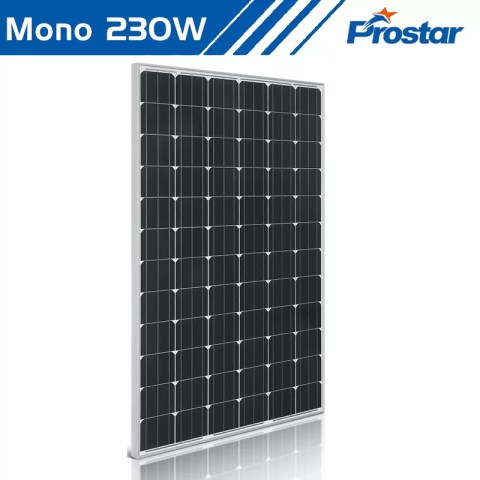Prostar PMS230W 24v mono solar photovoltaic panels 230 watt rating