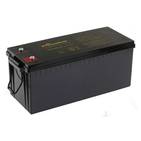 Prostar rechargeable 12v 200ah agm deep cycle battery for solar system