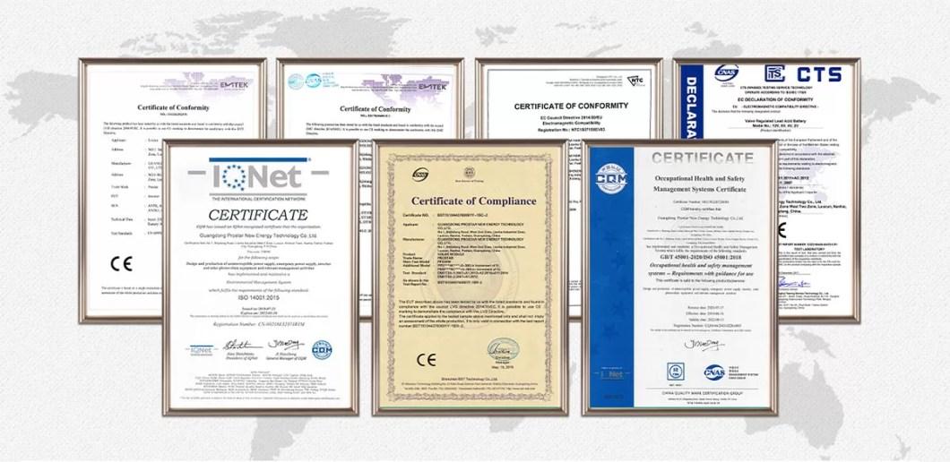 Prostar Certificate Show