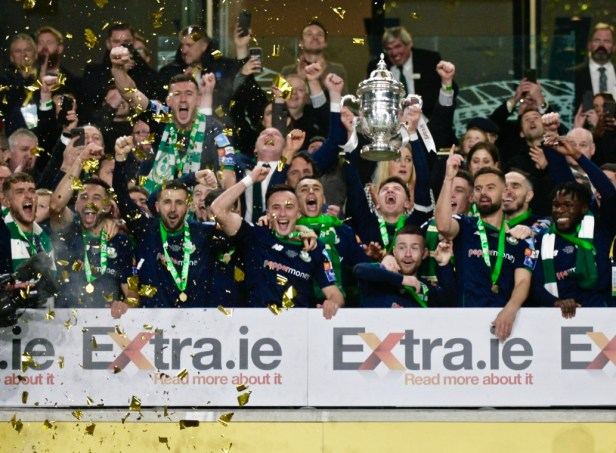 Shamrock Rovers win FAI Cup Final after penalties in Dublin