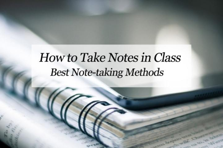 How to Take Notes in Class