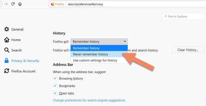 Enable Private Browsing-min