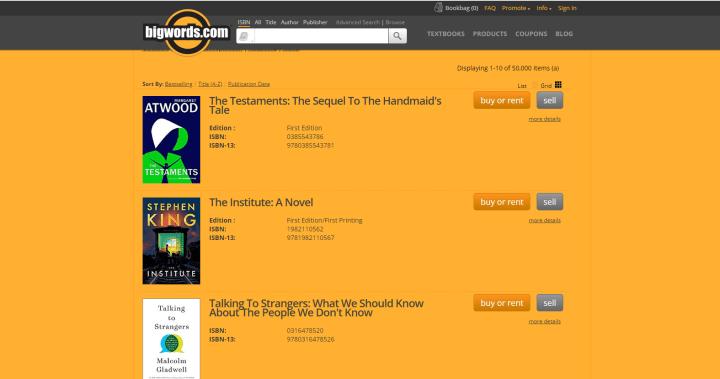 cheap textbook online - BigWords