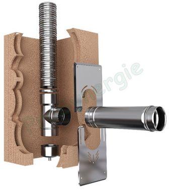 tubage flexible pour conduit de cheminee a la coupe ten liss inox 316l ou 904l double peau