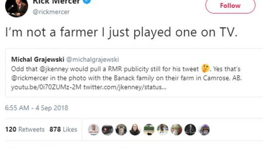 United Conservative Party Leader Jason Kenney is facing questions over images he used in a Labour Day tweet meant to highlight the plight of unemployed Albertans.