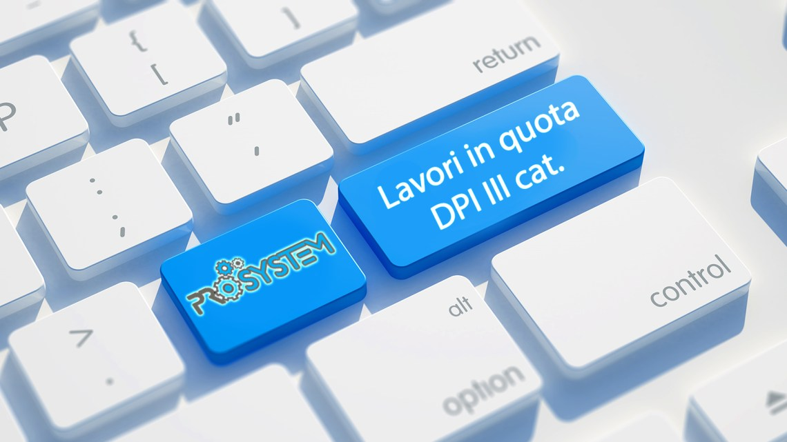 Lavori in quota e DPI di III categoria