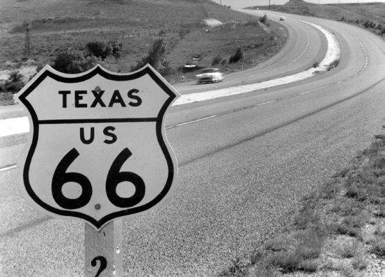 Route 66 Roadside Signs