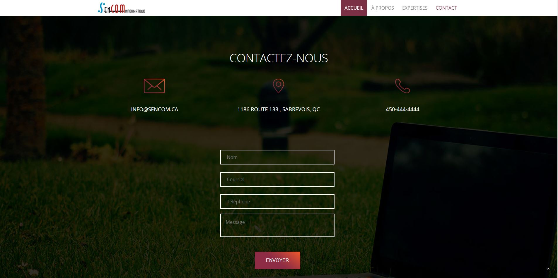 Agence web - Marketing digital - création site web - Protai-in - sencom