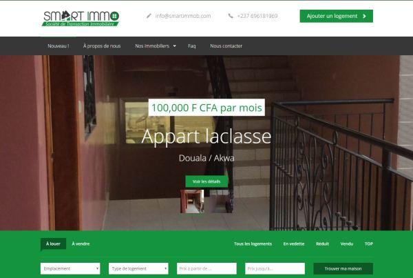 Agence web - Marketing digital - création site web - Protai-in -smart-immob