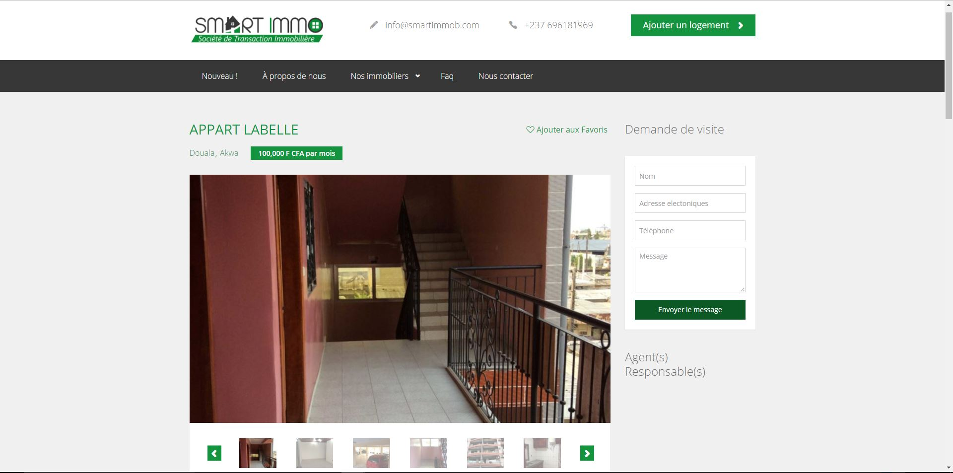 Agence web - Marketing digital - création site web - Protai-in - smart-immob