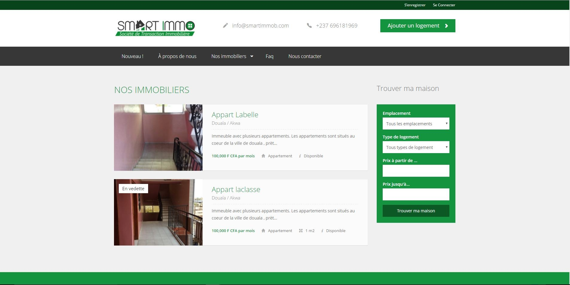 Agence web - Marketing digital - création site web - Protai-in -smart-immob