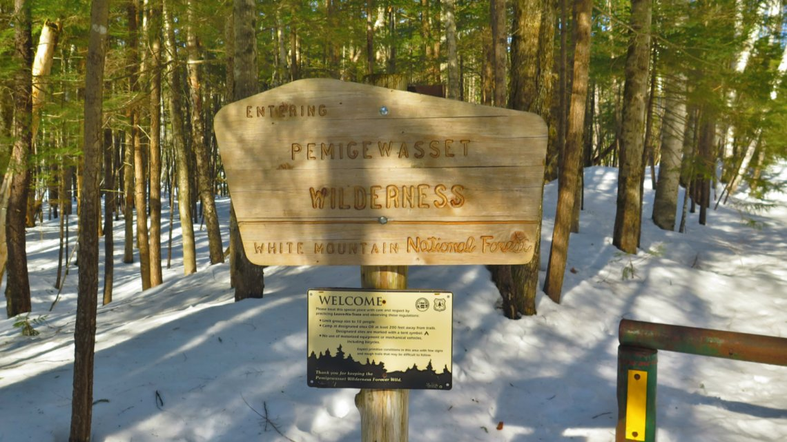 Pemi-East-Side-Wilderness-Sign-20200303