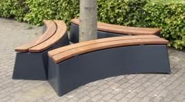 banc beton ovale deluxe arbre-1