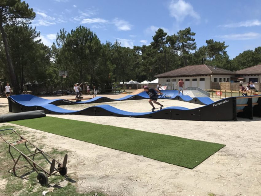 pumptrack, ucpa, montalivet, gironde