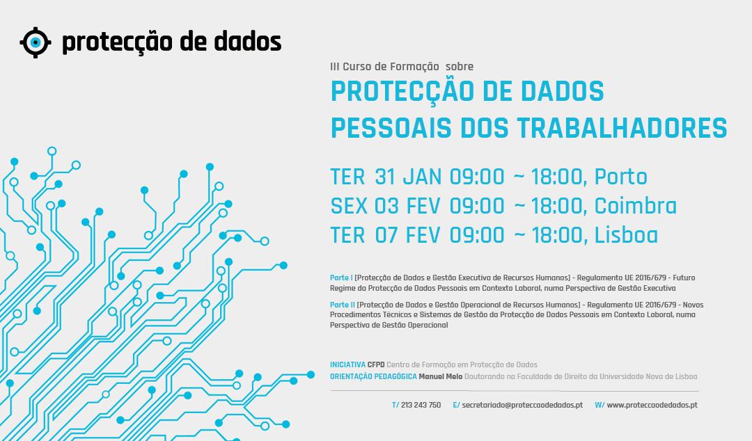 III Curso de Formação – «Protecção de Dados Pessoais dos Trabalhadores» – Dados Pessoais em Contexto Laboral