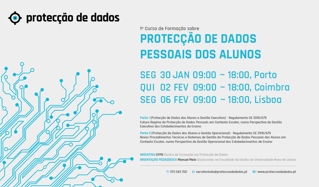 I Curso de Formação - «Protecção de Dados Pessoais dos Alunos» - Estabelecimentos de Ensino