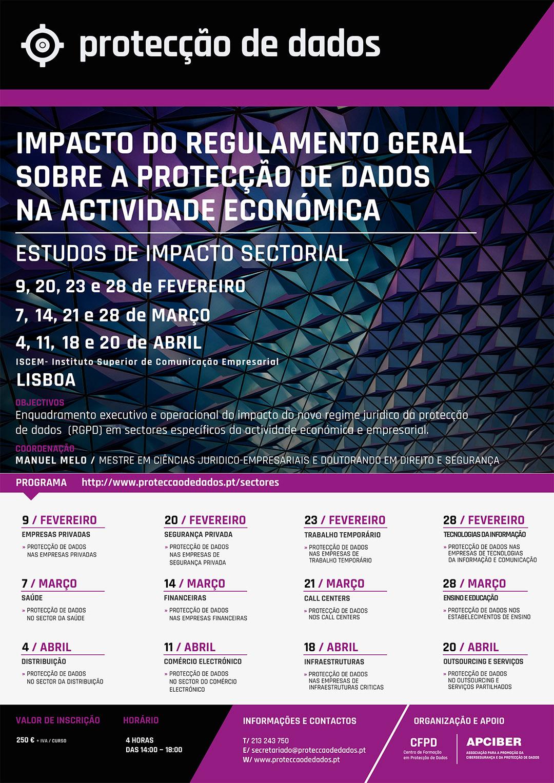 Ciclo de Cursos - Protecção de Dados nos Sectores de Actividade Económica