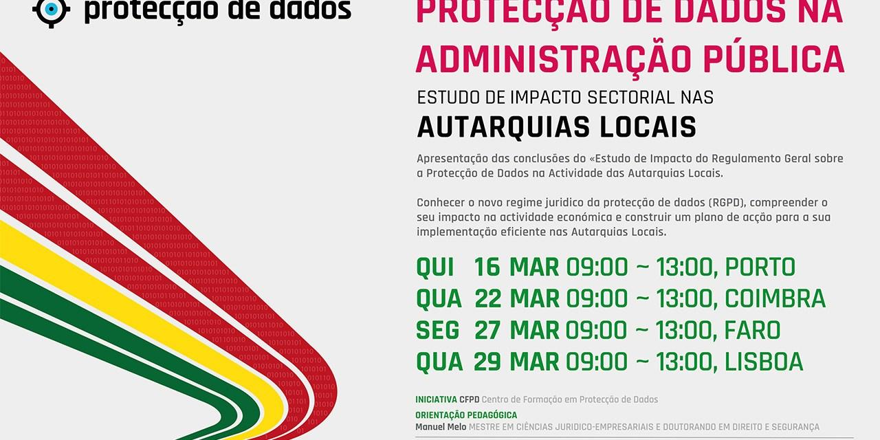 I Curso de Formação – «Protecção de Dados Pessoais nas Autarquias Locais»