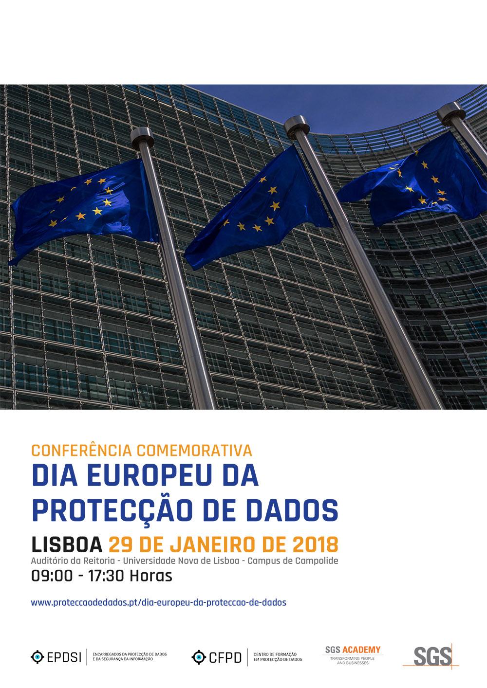 Conferência - Dia Europeu da Protecção de Dados - Lisboa - 29 de Janeiro de 2018