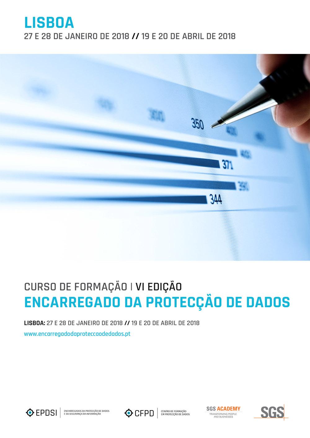Curso de Formação - Encarregado da Protecção de Dados - VI Edição - Lisboa - Agenda Geral