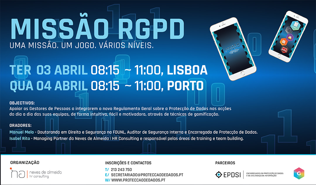 Missão RGPD - GDPR Gamification