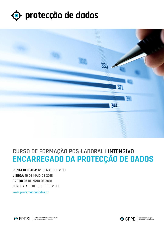 Curso Intensivo - Encarregados da Protecção de Dados - Agenda de Cursos
