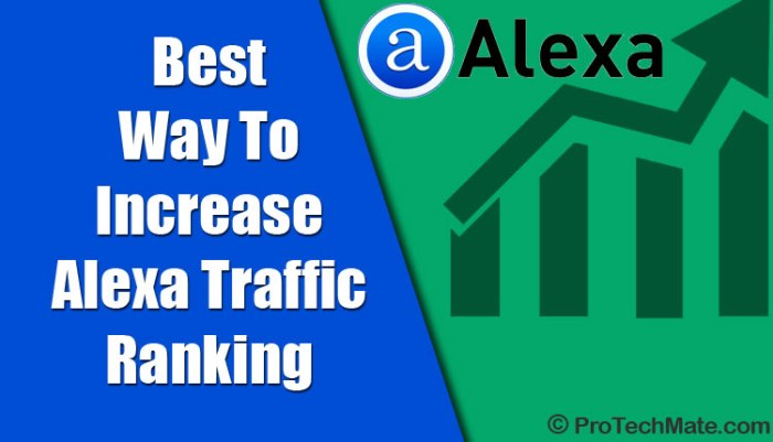 Way To Increase Alexa Traffic Ranking