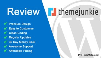 Theme Junkie Review – Affordable Responsive WordPress Theme