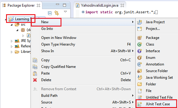 Selenium WebDriver script for login - PROTECHSKILLS