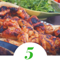 5 Leftover Grilled Chicken THM lunch Ideas Low Carb