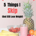 5 THM Things I Don't Do - Trim Healthy Mama Items on the Plan that I skip and still lose weight. It is easy for the beginner to get started if you don't complicate the recipes.