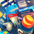 Blue Going Away Gift Basket for Friends - Coworkers- Boyfriend - College Student