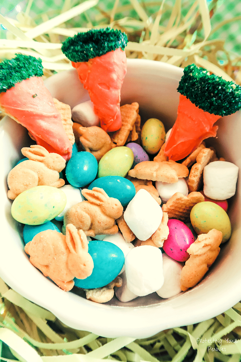 Fun Easter Trail Mix for kids