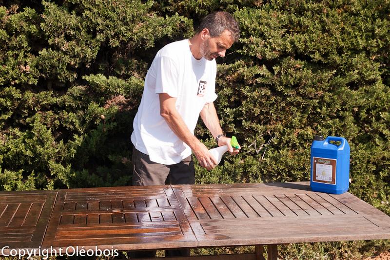 R nover et nettoyer votre mobilier de jardin blog for Sur la table application