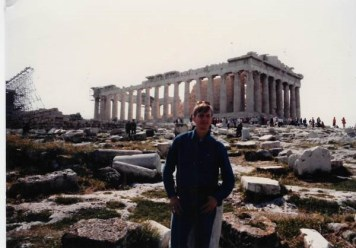 The author in Athens