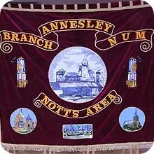 coal miners banner
