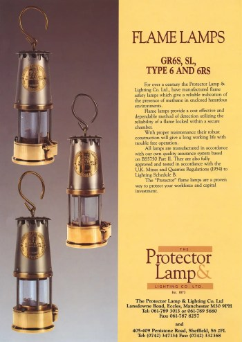 mining flame safety lamp