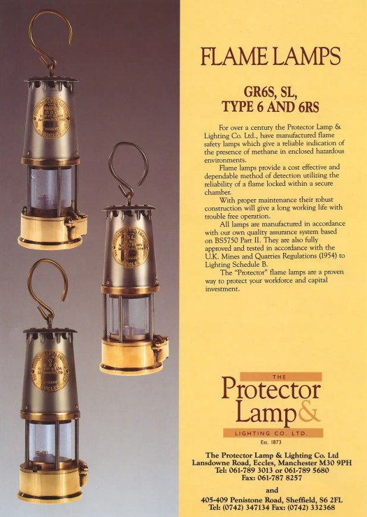 protector lampgrs flame safety lamp