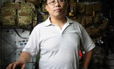 Interview de Sun Lei, le fondateur de la marque d'équipements WinForce