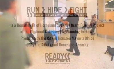 Run, Hide, Fight : une recette texane face à un tueur fou